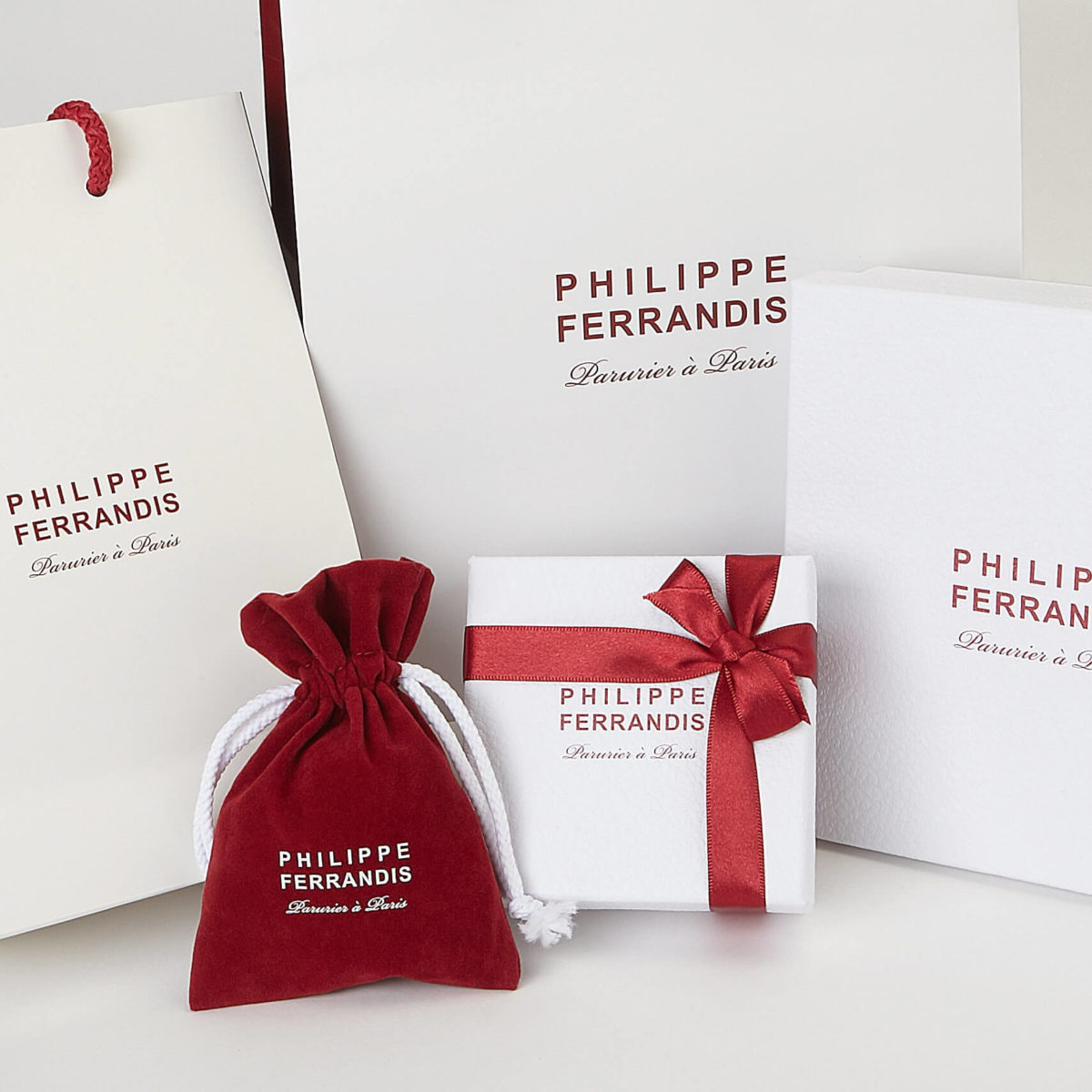Packaging PHILIPPE FERRANDIS.