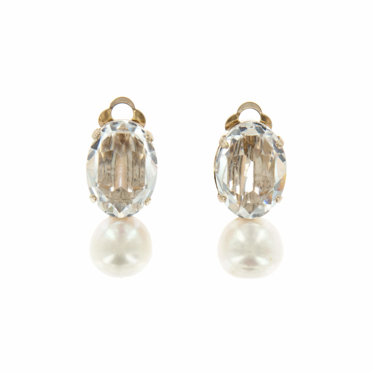 Boucles d'oreilles clips ICE DROP ICE100