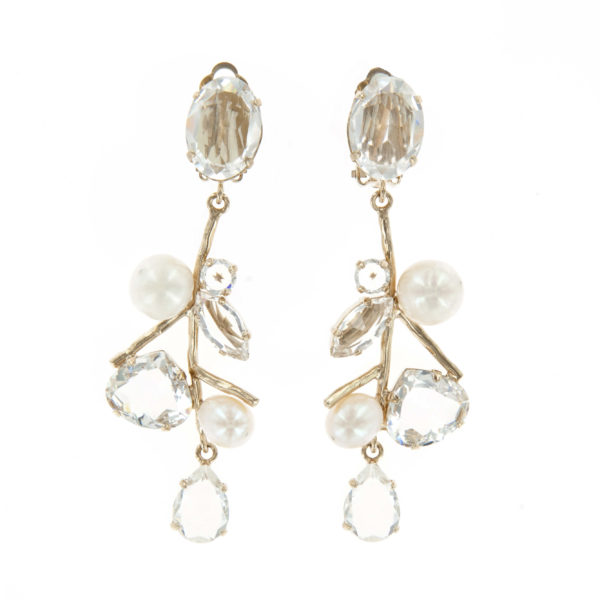 Boucles d'oreilles clips ICE DROP ICE108