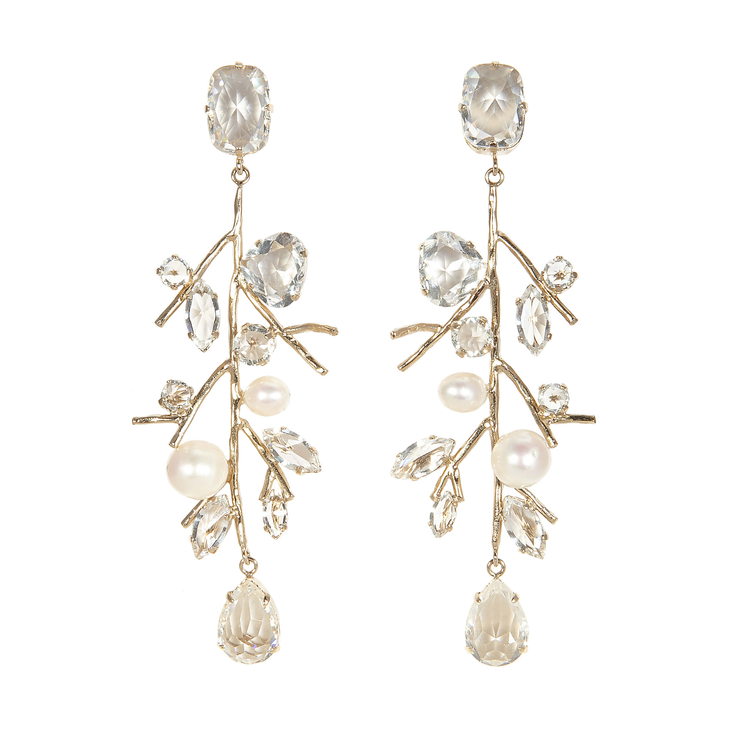 Boucles d'oreilles clips ICE DROP ICE110