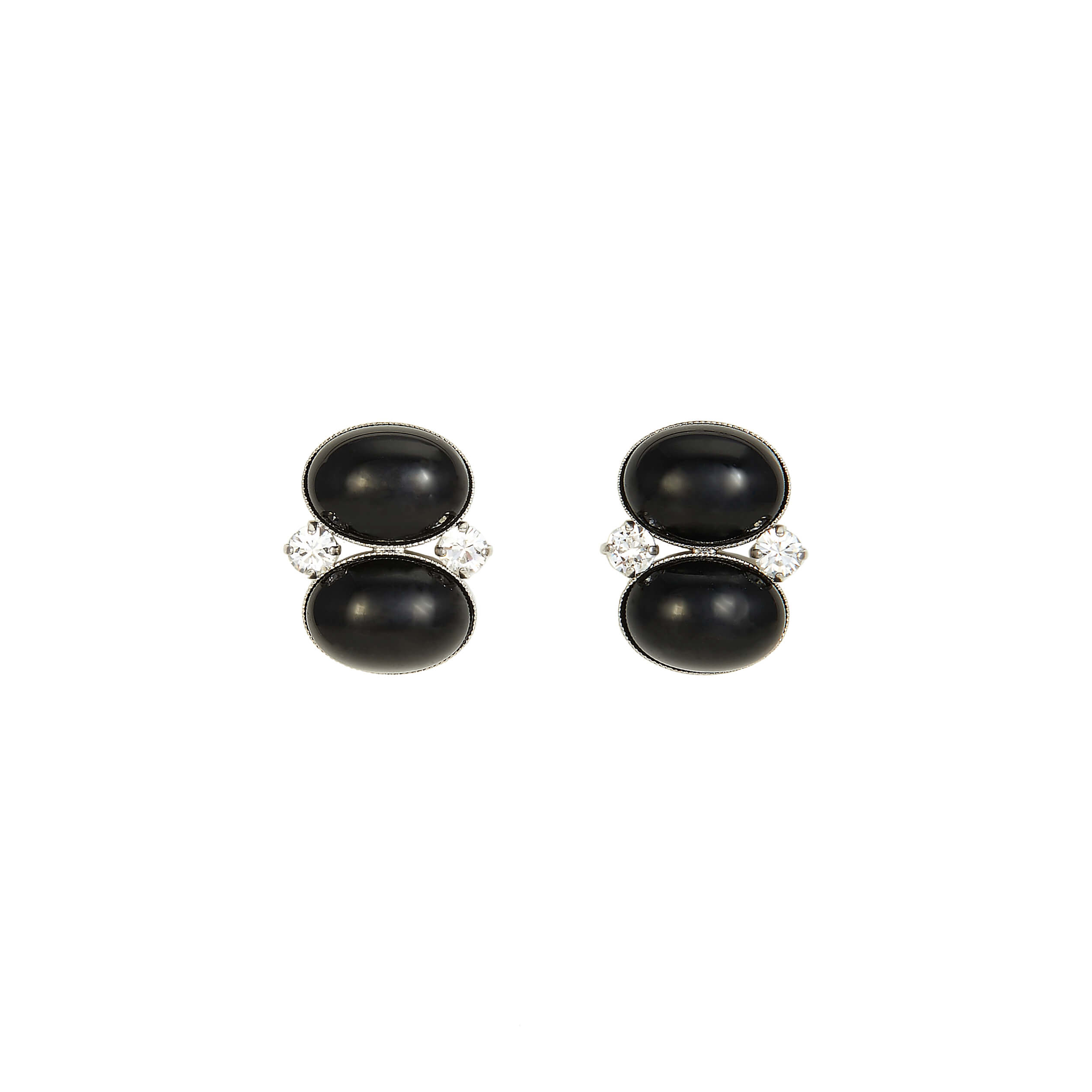 Boucles d'oreilles clips MADISON SQUARE MDS102-Col.1