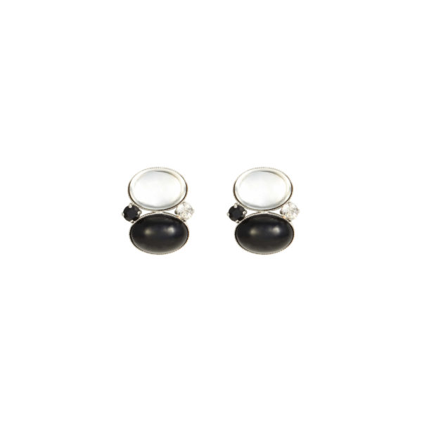 Boucles d'oreilles clips MADISON SQUARE MDS102-Col.3