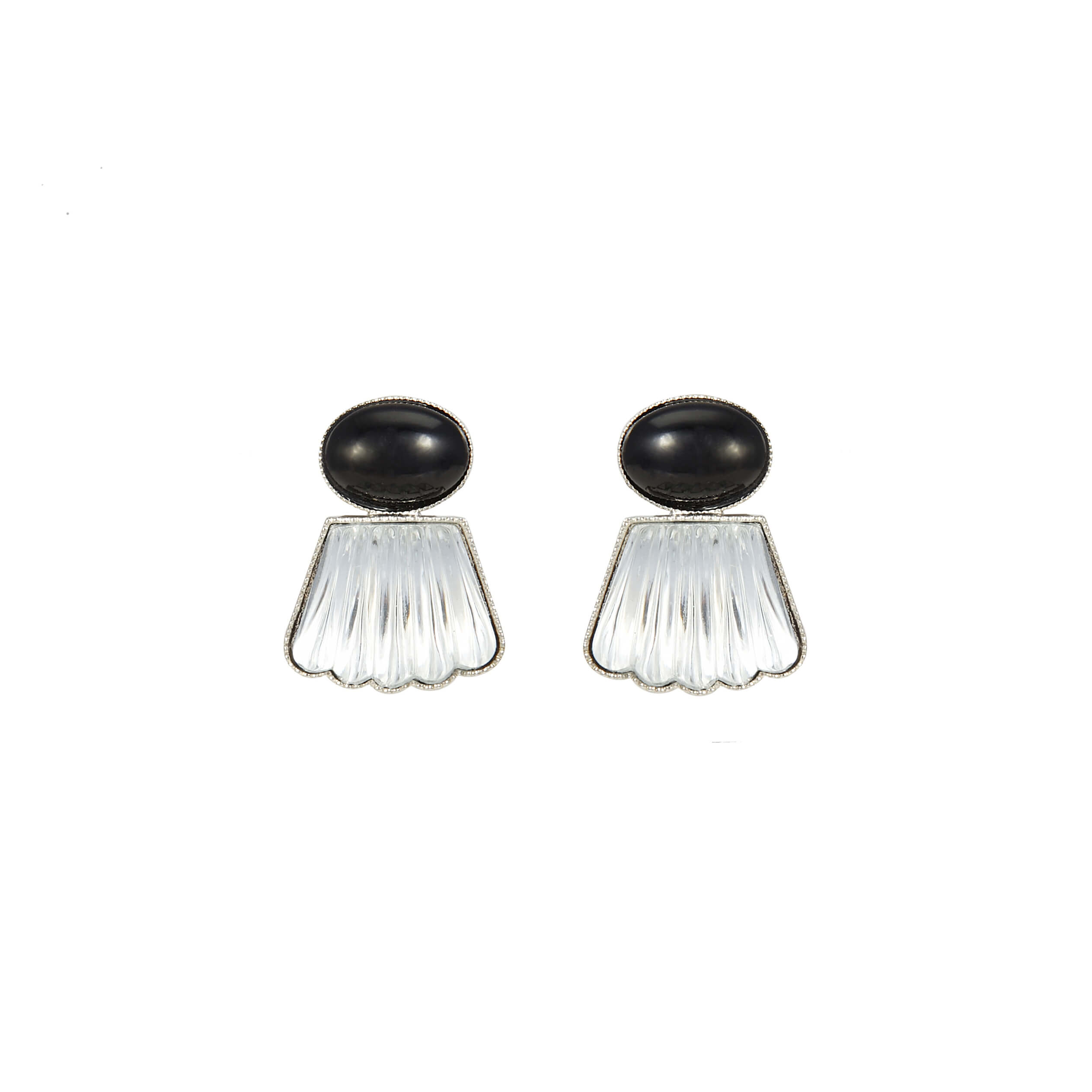 Boucles d'oreilles clips MADISON SQUARE MDS104-Col.2