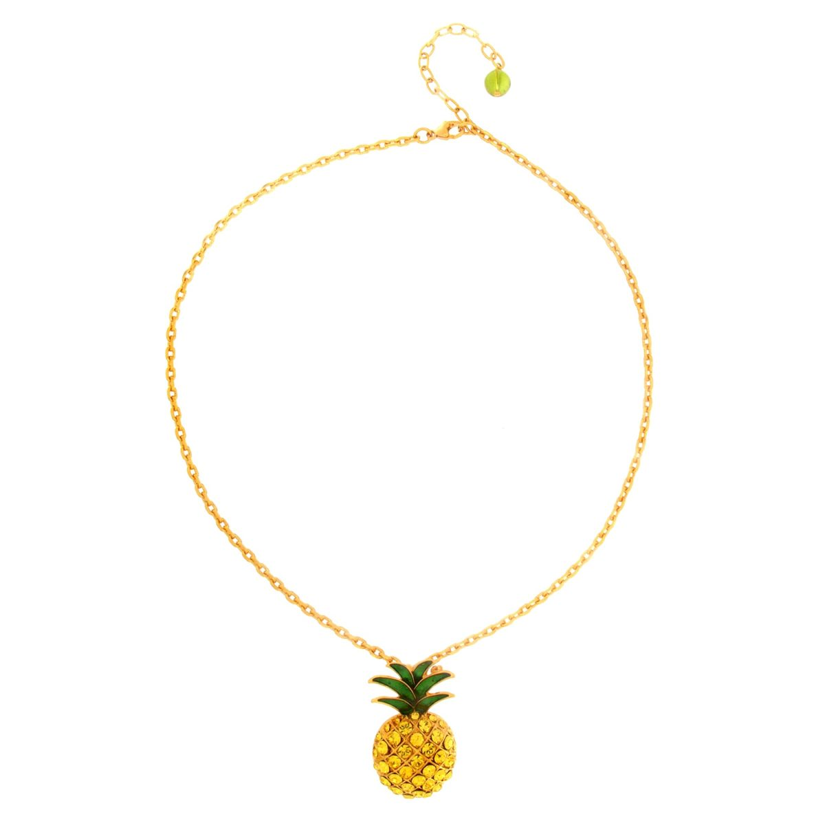 Collier broche Pineapple