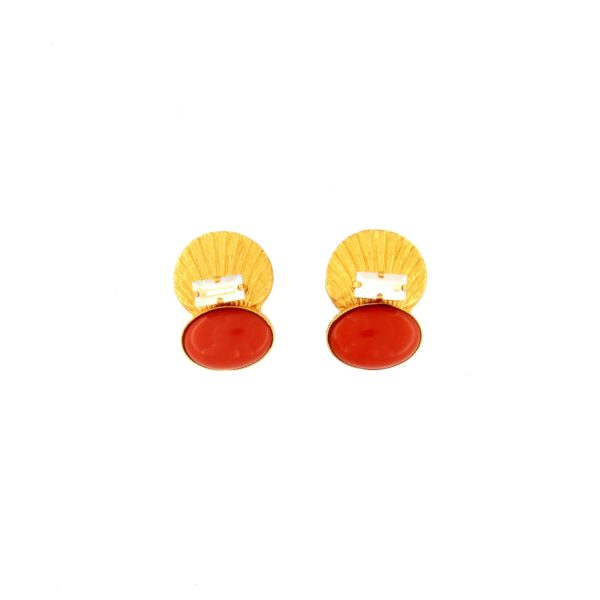 Boucles d'oreilles clips MADRAGUE MDG101-C packshot