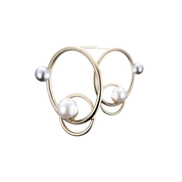 Boucles d'oreilles percées FUNAMBULE FU13